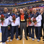 Gold! Coach K led Team USA trips Spain to sweep Beijing