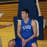 Brian Zoubek talks about the freshmen, his healing process and the coming season