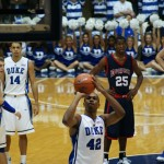 Thomas takes aim after intentional foul.  Copyright BDNP