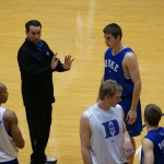 "Krzyzewski talks of ""Duke Standards"""