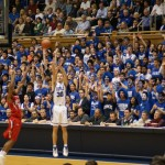 Scheyer talks of Duke being atop the polls and preparing for Wake Forest