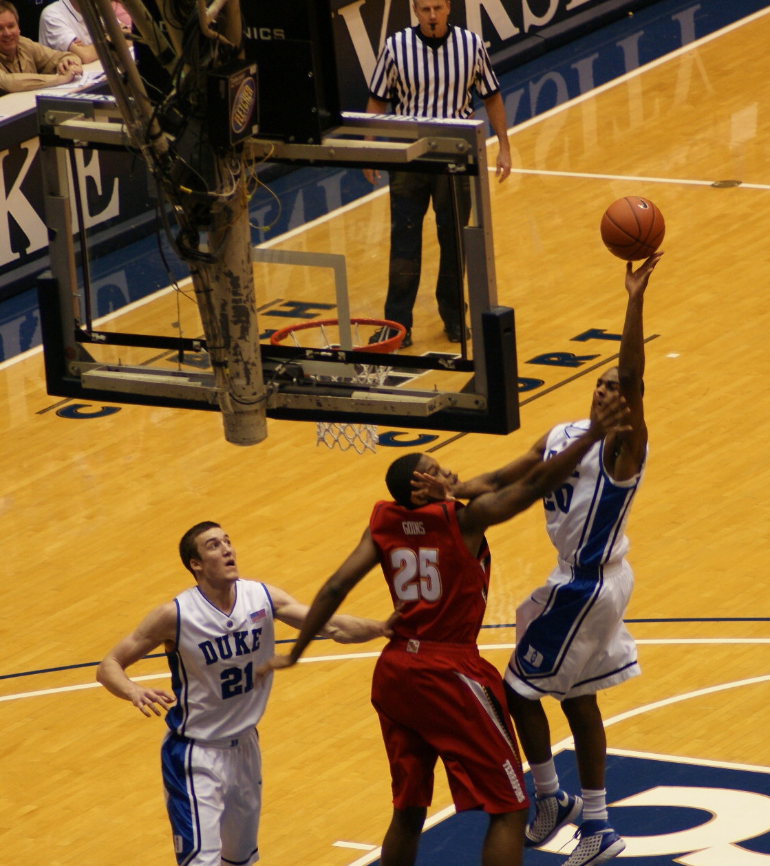 Duke freshman Elliot Williams