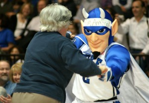 Blue Devil games are fan friendly