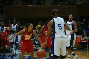 Thomas was four of four from the free throw stripe in the final eight seconds.