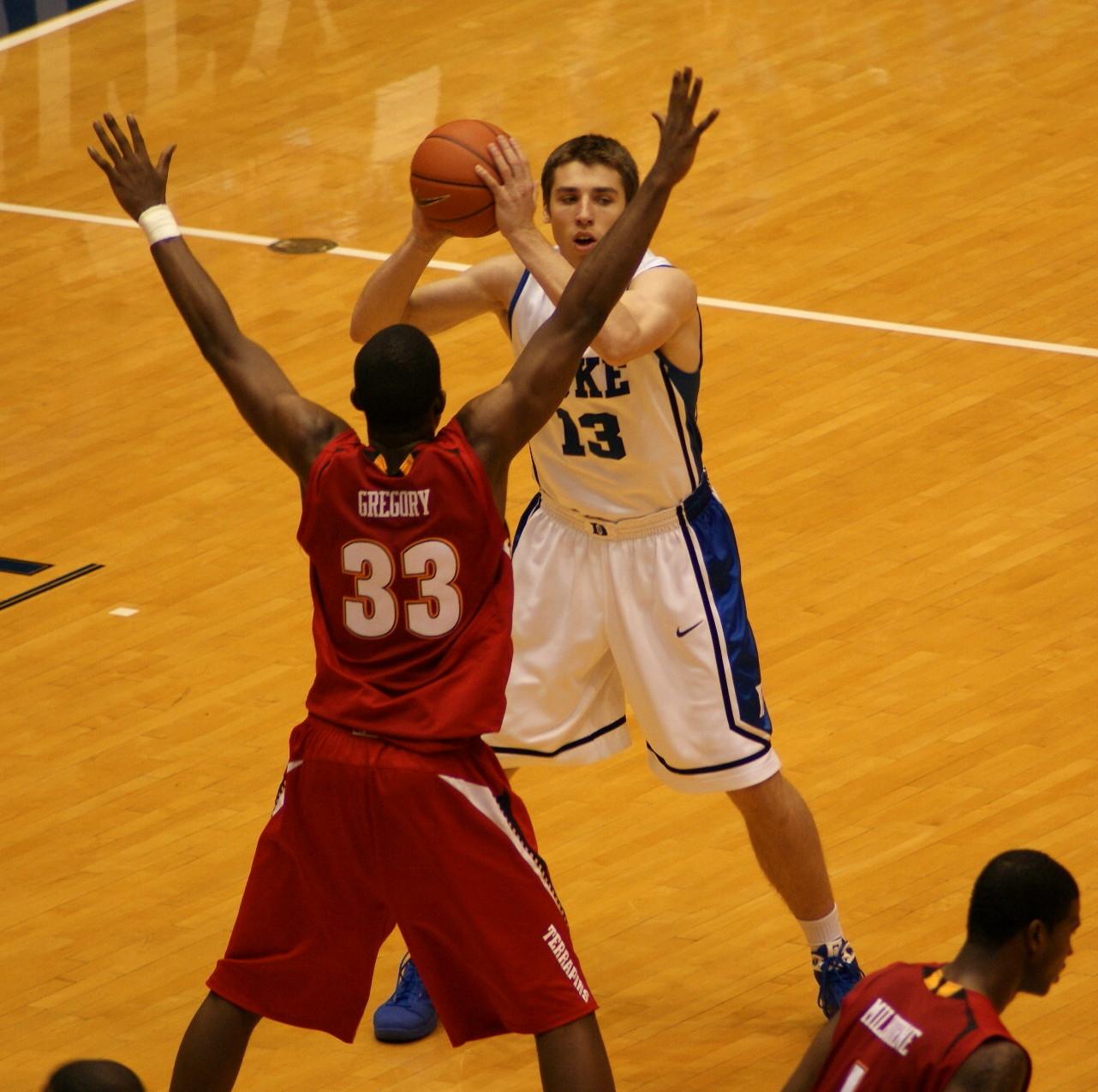 Duke freshman Olek Czyz
