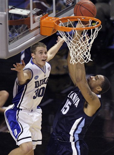 NCAA Villanova Duke Basketball