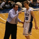Scheyer sprined his ankle against FSU - BDN Photo