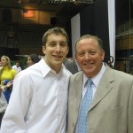 Greg Paulus and his Dad - BDN Photo