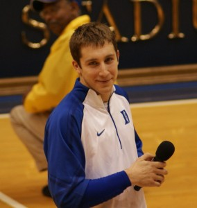 Paulus on Senior Day - BDN Photo