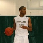 Andre Dawkins surveys the court during the Boo Williams Invitational - BDN Photo