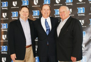 Steve Brooks, David Cutcliffe and Bob Pascal - BDN Photo
