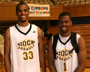 Hairston and Thornton - BDN Photo