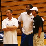 Hurley and his assistants led his team to the title during the recent Coach K Academy