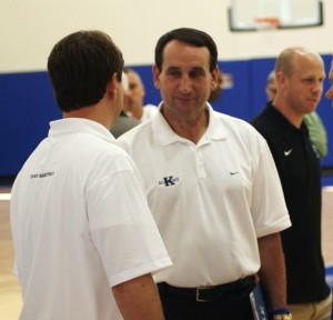 Coach K allows participants to feel the Duke experience during his annual Coach K Academy