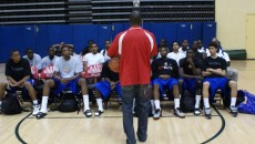 Jason Williams gave kids a talk they'd remember - copyright BDN Photo