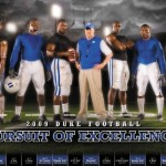 2009 Duke Football Poster