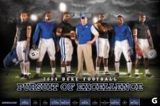 2009 Duke Football Poster