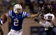 True Freshman Conner Vernon will haul in many passes over his Duke career