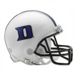 Duke throttles cross town rival NCCU 49-14 on a rainy night in Wallace Wade Stadium