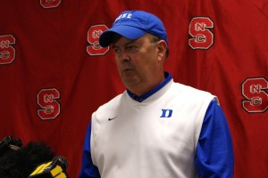Cutcliffe gave the entire Blue Devil Nation a key vicotry on Saturday
