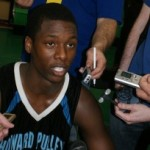 Harrison Barnes was swarmed by media earlier this season - BDN Photo