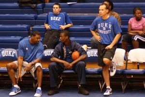 The Duke staff wants to work with Harrison Barnes - BDN Photo
