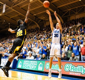 Scheyer for three!  Lance King Photography