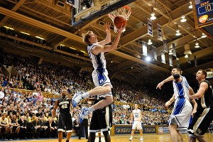 Singler explodes in the 2nd half against Wake in Duke's 90-70 win - Photo special to BDN copyright Lance King Photo