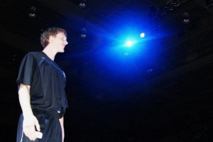 BDN Photo - Singler introduced