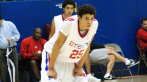Rob discussed Austin Rivers with BDN's MArk Watson - BDN Photo