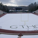 Duke Football Field looking good today!!!!