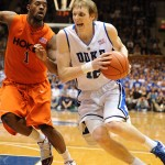 Kyle Singler tallied 25 points and 10 rebounds vs Virginia Tech - Lance King Images
