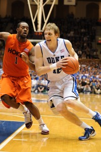 Singler helps Duke get past Hokies