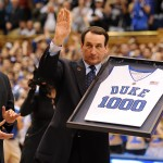 Coach K's 1000th game was a rousing success - Lance King Images