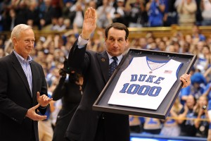 Coach K's Blue Devils crush Maryland on his birthday