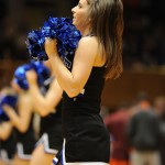 Another Monday morning for the Blue Devil Nation.  The men whipped the Hokies, the women whipped the Terps to win the ACC regular season, Duke signs a football prospect, two prospects visit during the basketball game a bit more and of course, the cheerleader of the week pic
