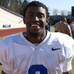 Johnny Williams now in the secondary for Duke - BDN Photo