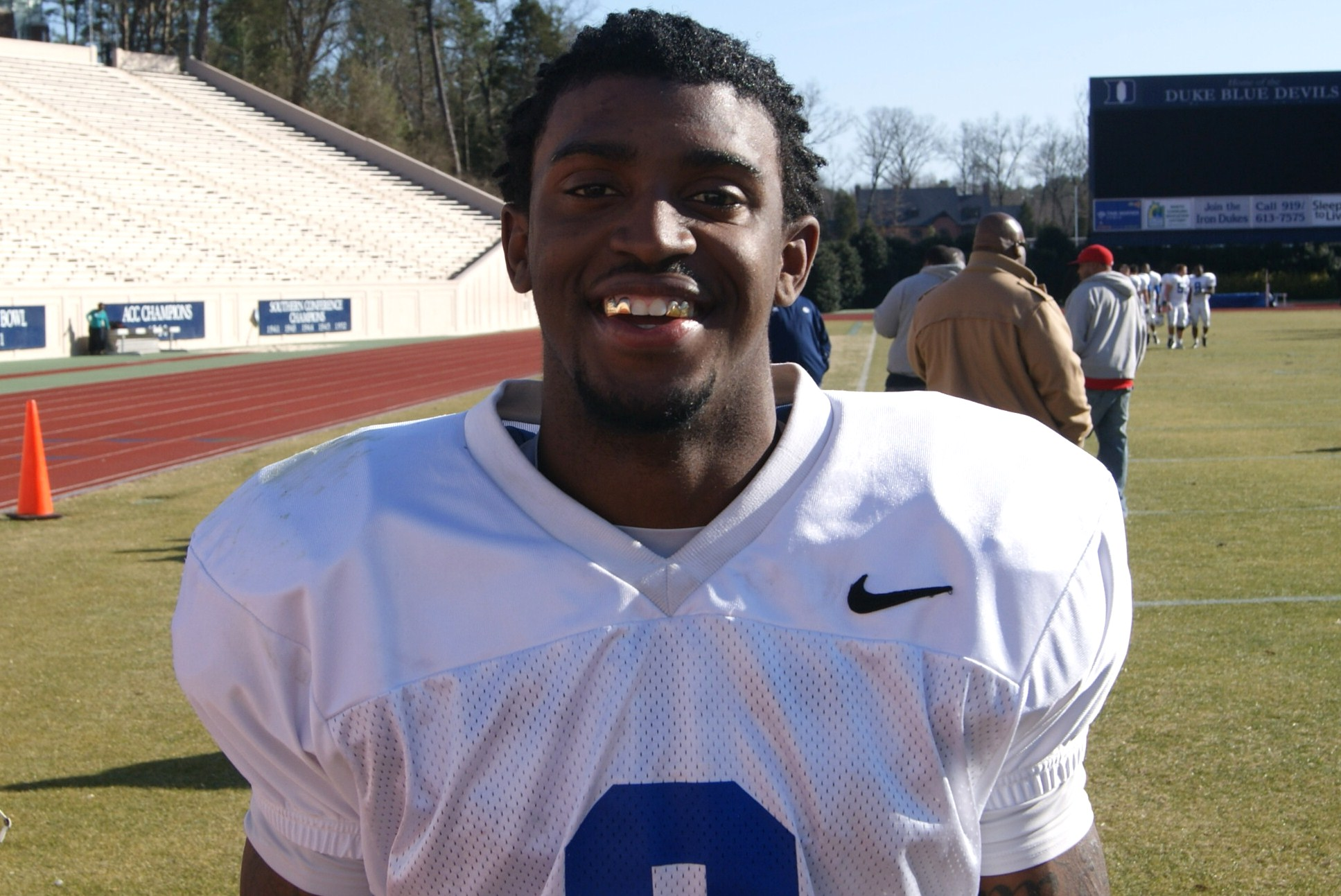 Johnny Williams Duke Spring Football