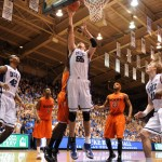 The Zoubinator grabbed 16 rebounds vs Virginia Tech - Lance King Image