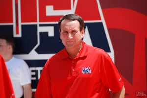 Coach K talks Team USA Basketball