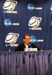 Coach K ready for Sweet 16 challenge
