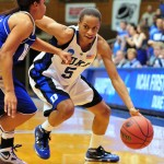 Duke women whip Hampton 72-37 in NCAA play