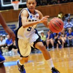 Jasmine Thomas drives to the Sweet 16 -Rick Crank Photo