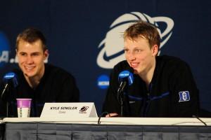 Duke vs Baylor Kyle Singler Jon Scheyer