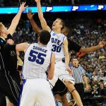 Jon Scheyer in action vs Purdue - photo courtesy of Duke Blue Planet