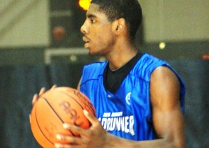 Kyrie Irving visits Duke