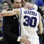 Hot off the press – Coach K talks NCAA Tournament