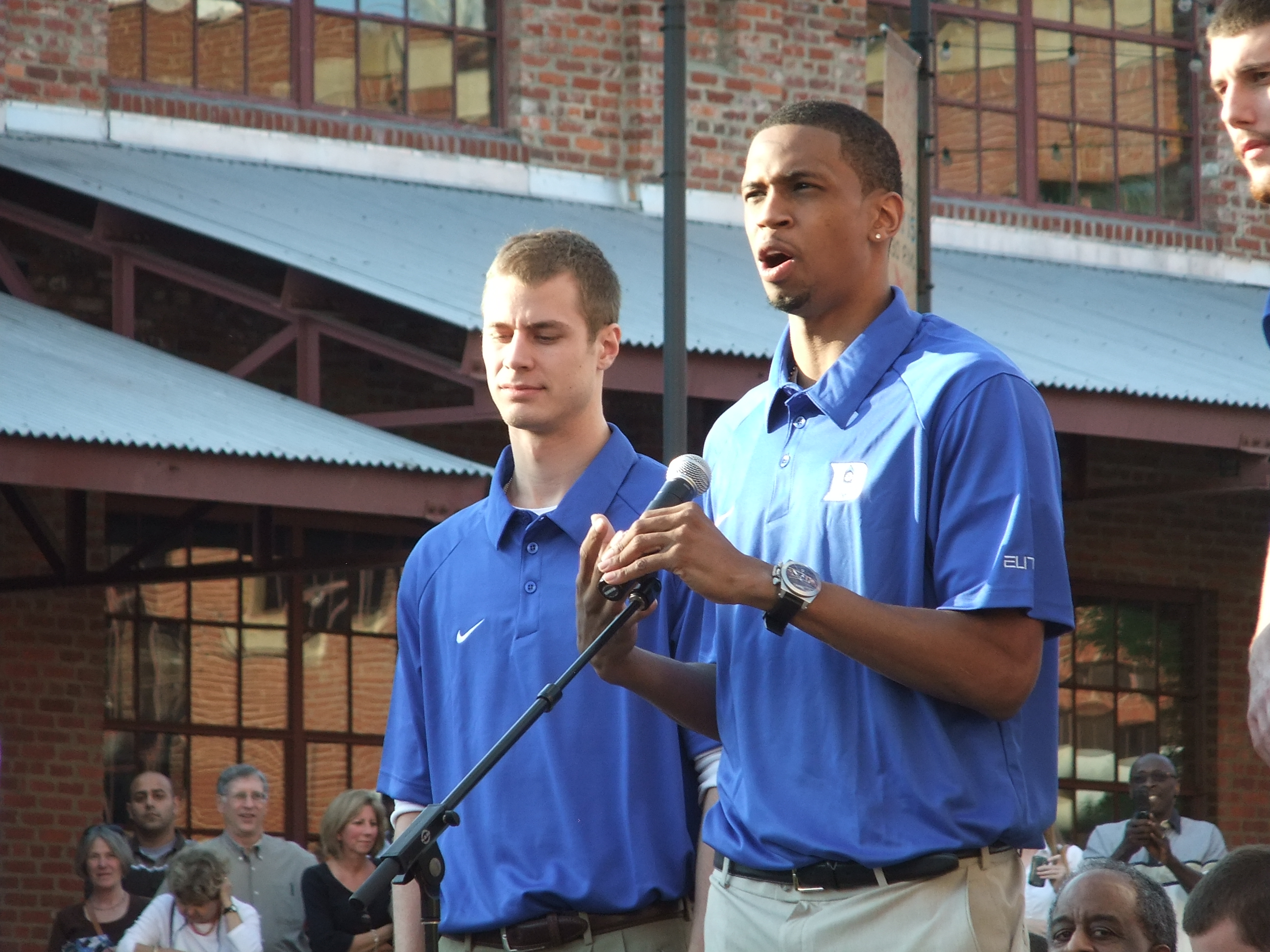 A fond farewell from Duke seniors Jon Scheyer and Lance Thomas - BDNP