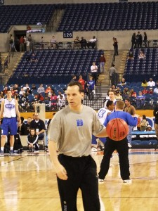 Collins helps Duke prepare for WVU