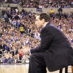 Coach K addressed the giddy crowd during Duke's Award Banquet